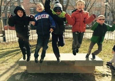 Elementary-students-jump